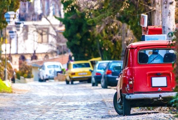 Biler i Ohrids gater