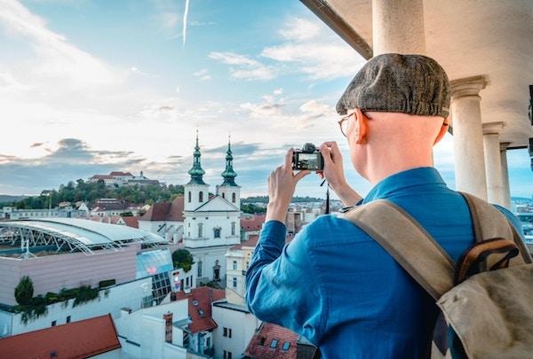 Kamera, berømt sted, tårn, gamlebyen, internasjonalt landemerke
