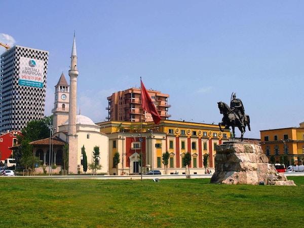 Albania tirana skanderbeg