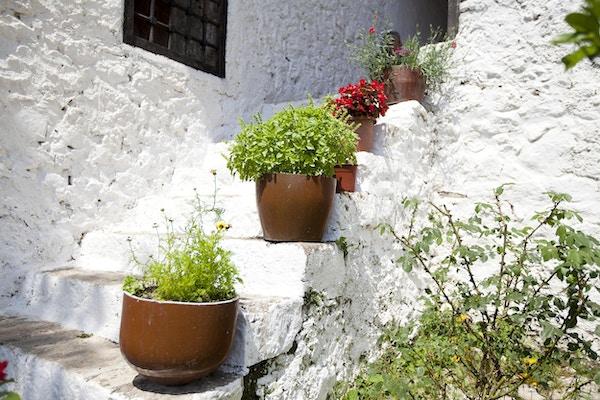 landsbyhus i Albania