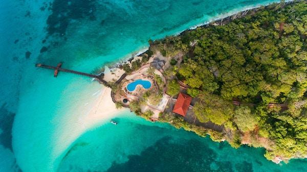 Øya så bruk som et fengsel for opprørsk slaver i 1860-årene og fungerte også som en korallgruve