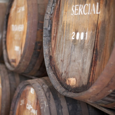 Vinfat på Madeira, Sercial er en rekke. ikke et merke.