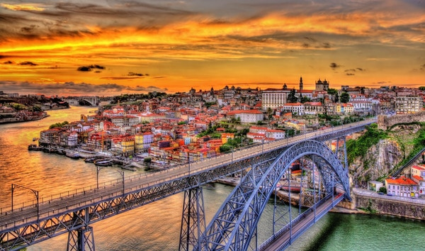 Stålbroen i Porto