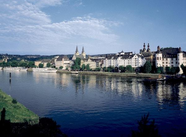Koblenz sett fra Rhinen