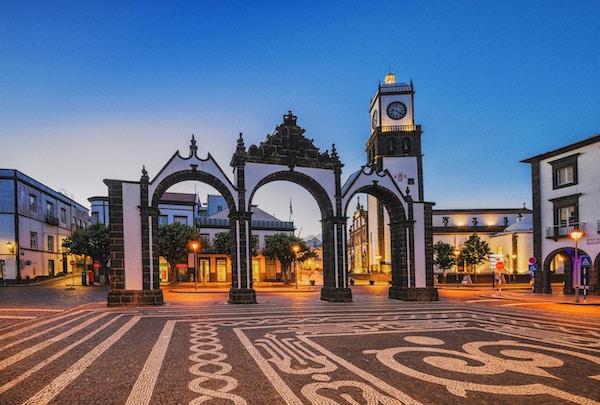 Bydører i Ponta Delgada