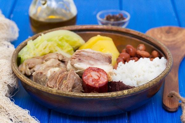typisk portugisisk rett tilberedt til portugisisk