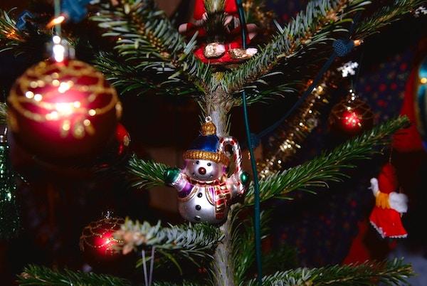 Julekuler på juletre