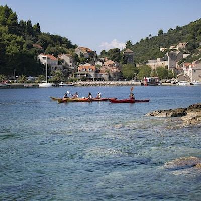 Kroatien kajak 2
