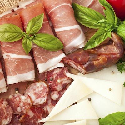 Ulike kjøttprodukter