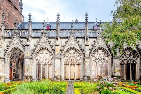 Hagene ved Domkirken og universitetet