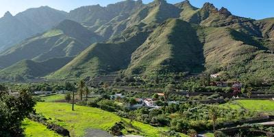 Den fordige Agaete-dalen på Gran Canaria.