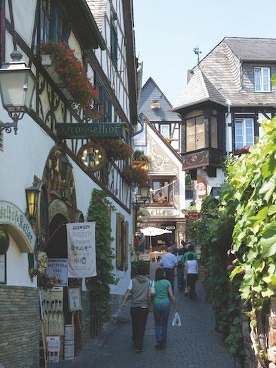 Rüdesheim, Rhinen