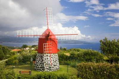 Azores vindmolle gettyimages 157384011