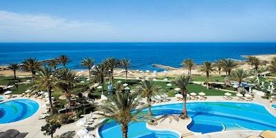 Panoramautsikt av uteområde, Athena Royal Beach Hotel