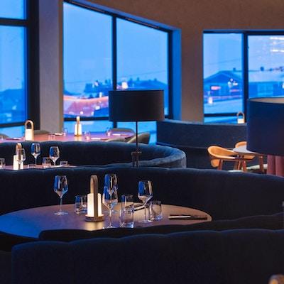 Resturant Nansen på Radisson Blu Polar Hotel Spitsbergen