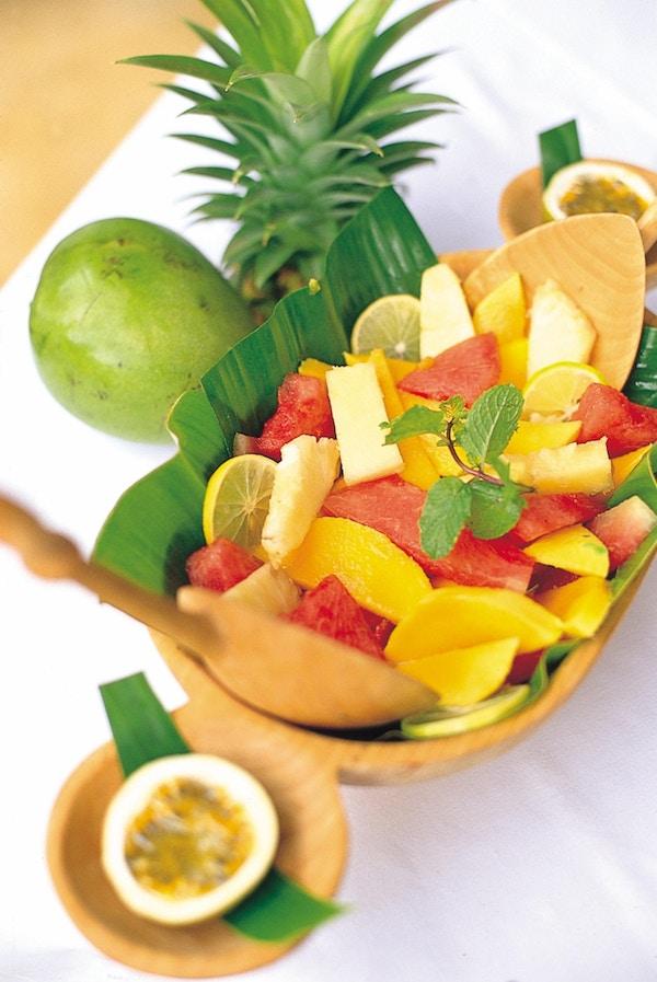 Bolle med frukt