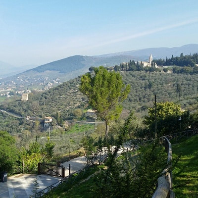 Utsikten fra Trevi