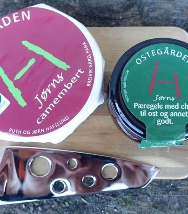 Ost og syltetøy fra Ostegården
