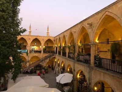 Marked og restauranter i Nicosia