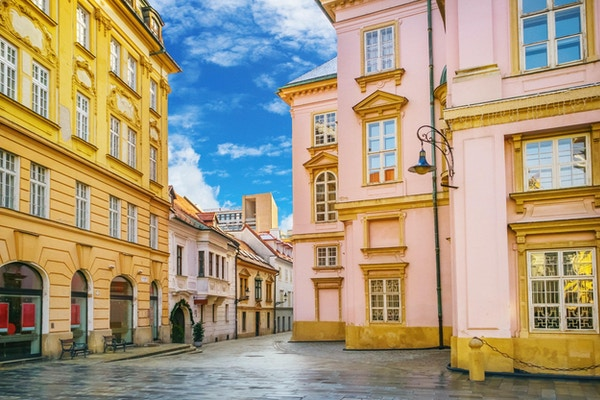 Urban scene i Bratislava