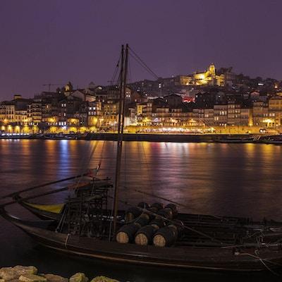 Portos historiske sentrum ved elven Douro. Porto, det nordlige Portugal.