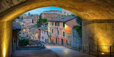 Portal i Perugia, Umbrias hovedstad.