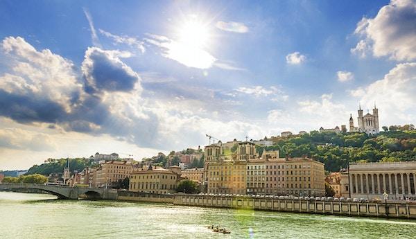 Vakker by Lyon, Frankrike