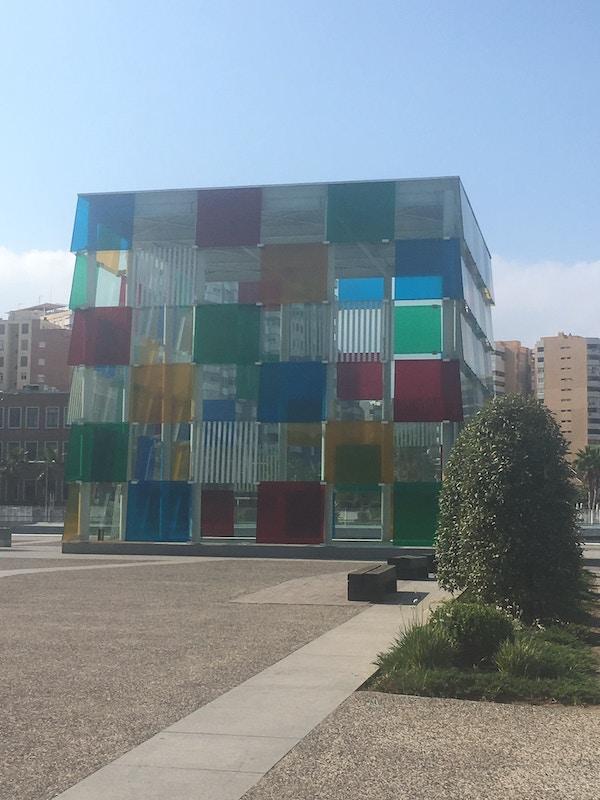 Malaga Pompidou