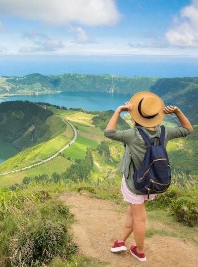 Azores san miguel sete cidades gettyimages 1040920580